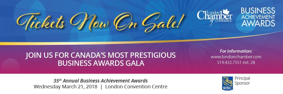 London Business Achievement Awards Promotional Image