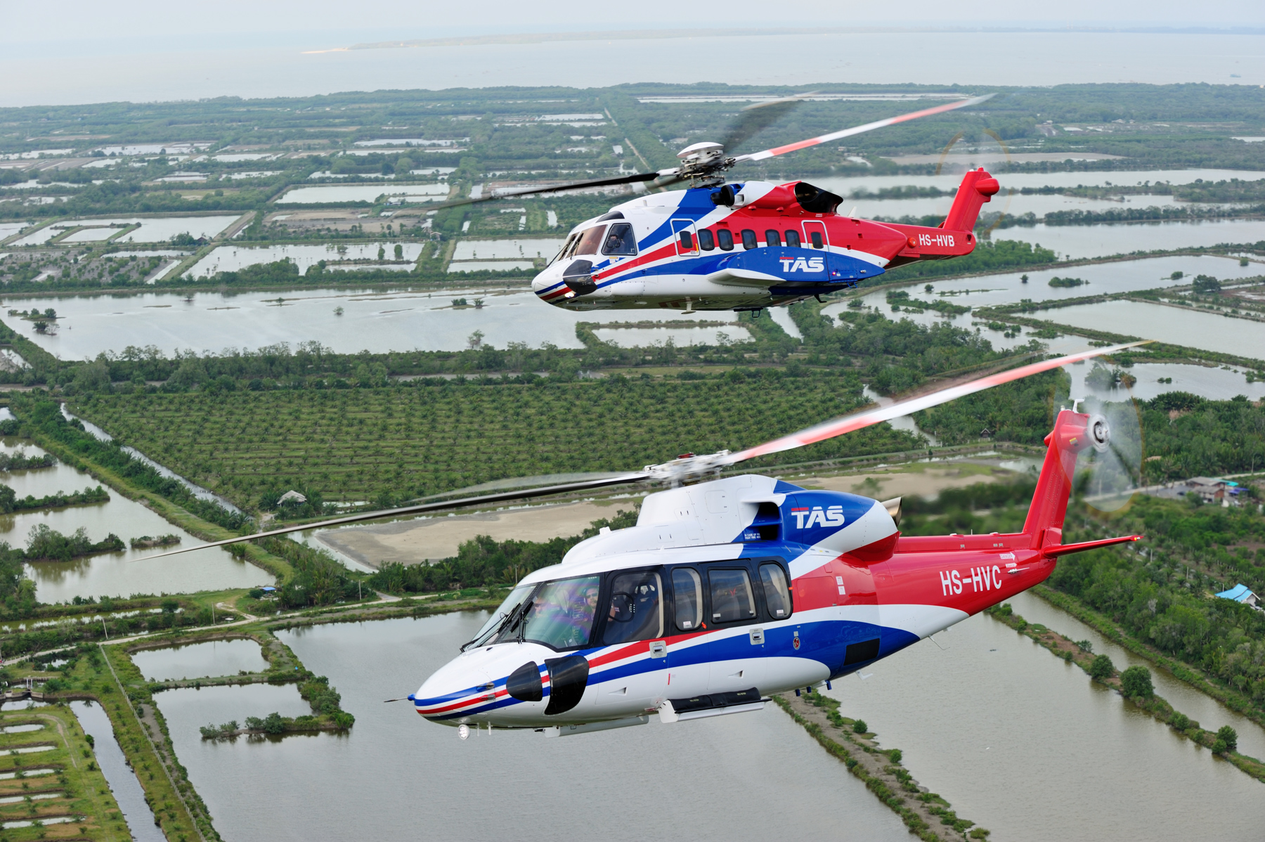 Sikorsky S-92 and Sikorsky S-76D
