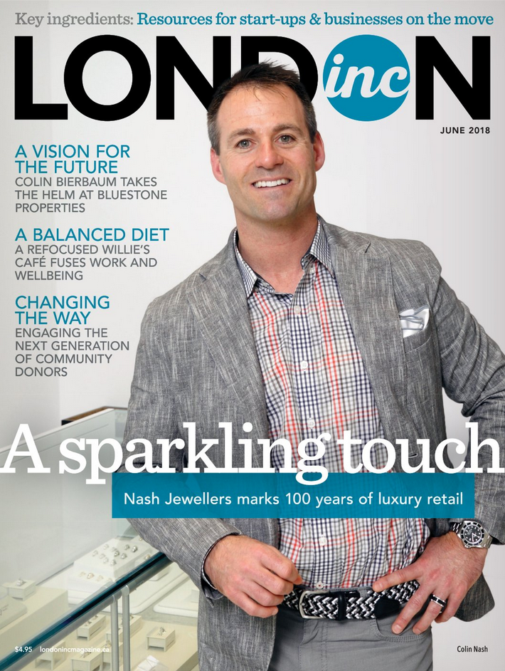 London Inc. Magazine - June Cover - Enterprise Column featuring WinAir - Aviation Management Software