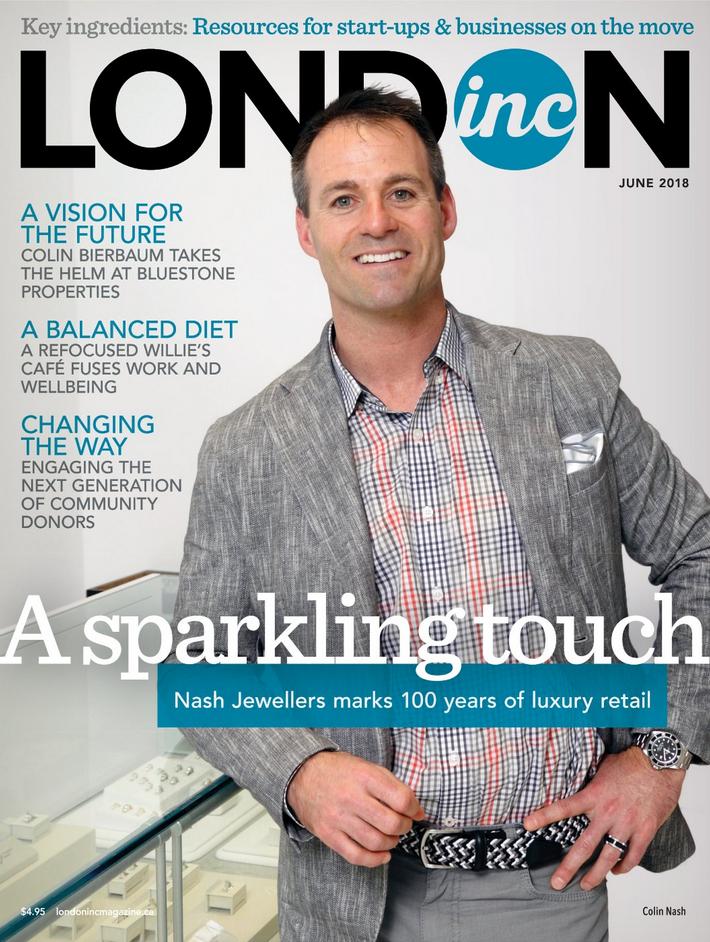 London Inc. Magazine - June Cover - Enterprise Column featuring WinAir - Aviation Management Software