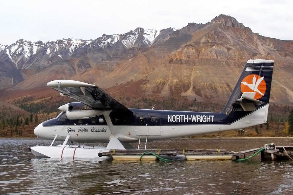 North-Wright Airways - de Havilland Canada Twin Otter DHC-6-100 aircraft