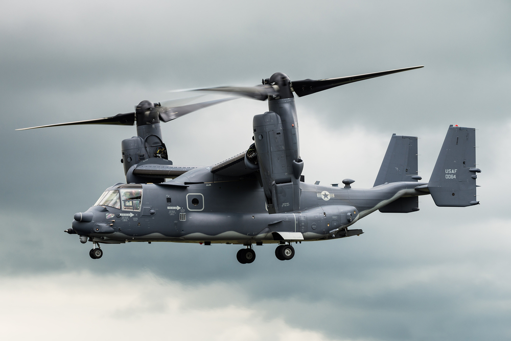The Supreme Guide to the Bell Boeing V-22 Osprey Infographic