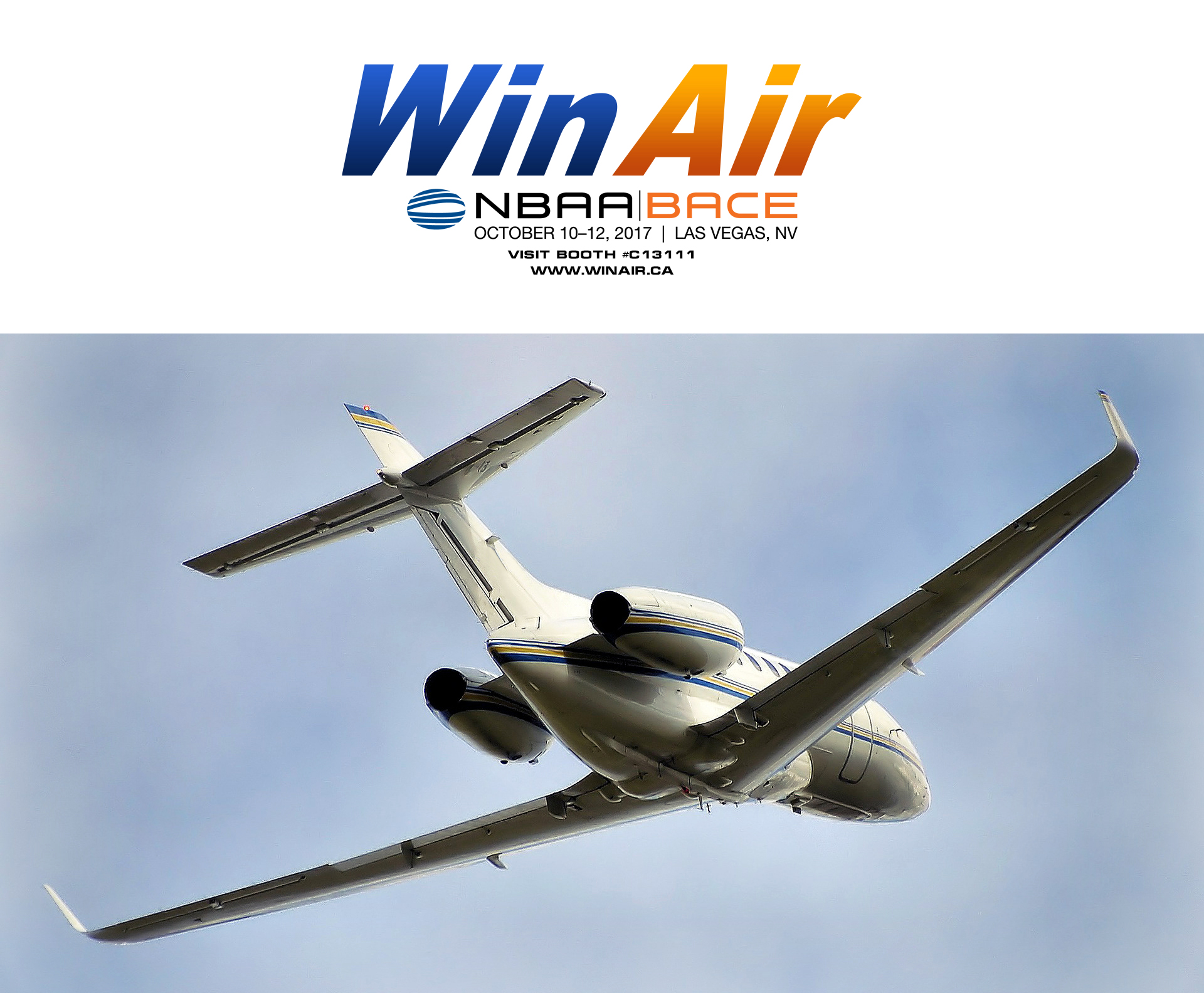 WinAir NBAA 2017 Booth C13111 promotional image