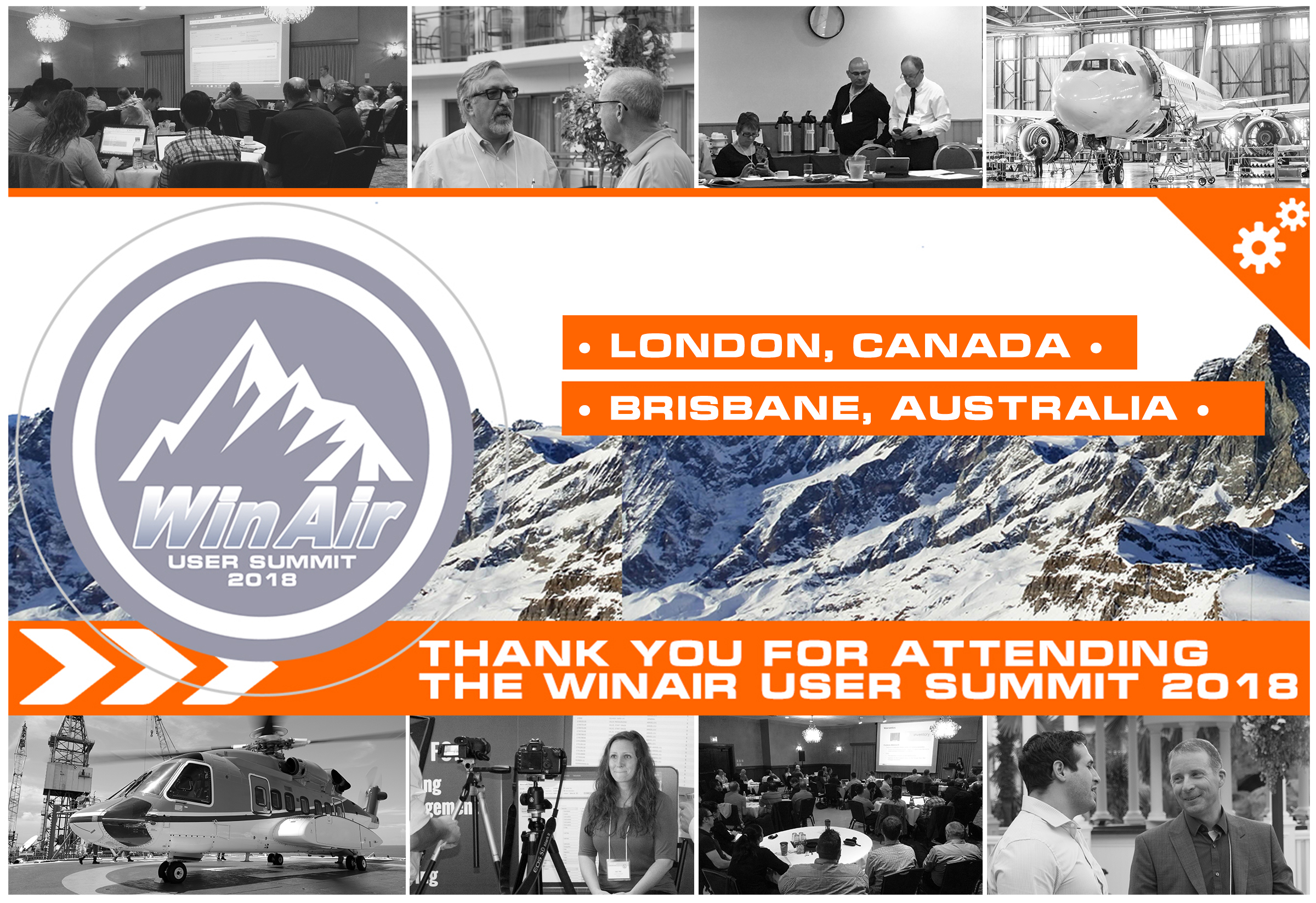 WinAir - User Summit 2018 - Thank You For Attending the Event - image