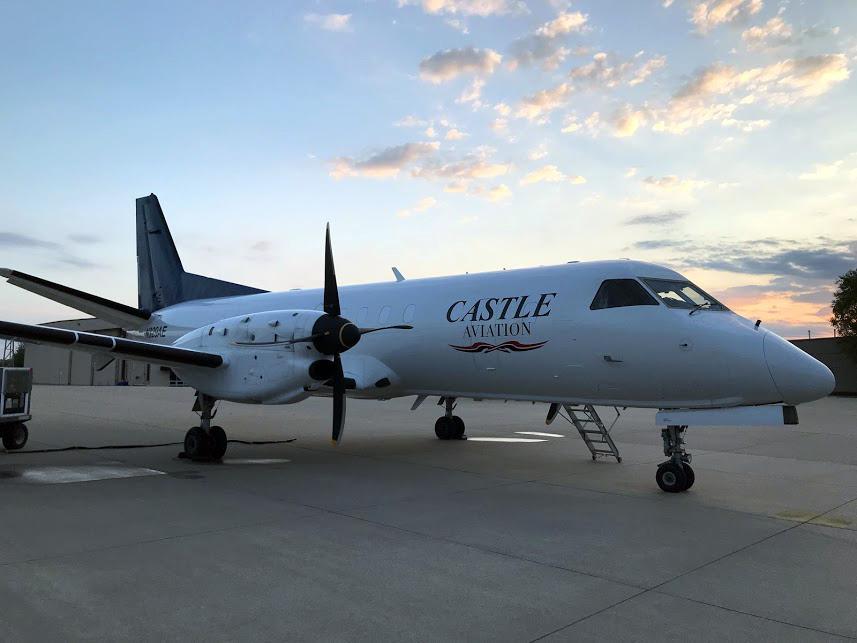 Castle Aviation - Preparing a Saab 340B Aircraft for the Next Flight